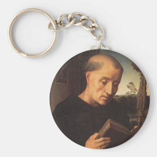 Hans Memling- Portrait of Benedetto Portinari Key Chains