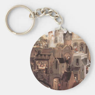 Hans Memling- Scenes from the Passion of Christ Keychains