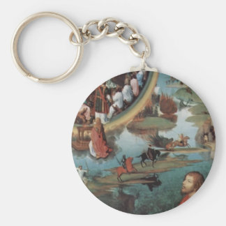 Hans Memling- Triptych of the Mystical Marriage Keychains