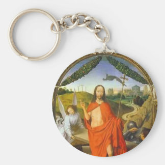 Hans Memling- Triptych of the Resurrection Key Chain