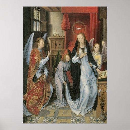 Hans Memling's Annunciation Canvas Print