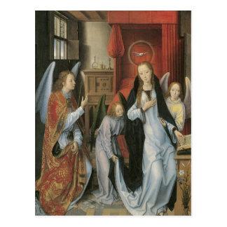 Hans Memling's Annunciation Post Card