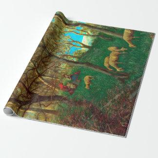 Hans Thoma At Lake Garda Wrapping Paper