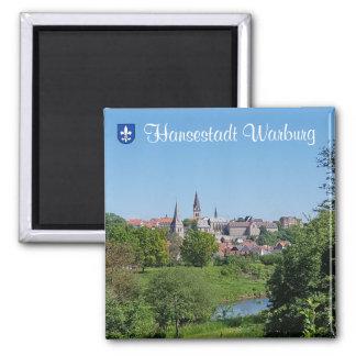 Hanseatic city Warburg Magnet