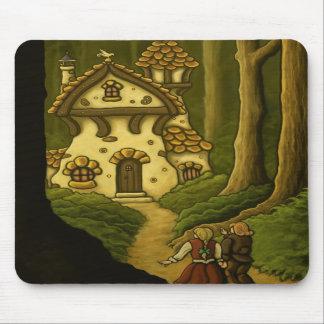hansel & gretel fairytale mouse pads