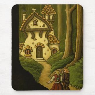 hansel gretel fairytale mouse pads