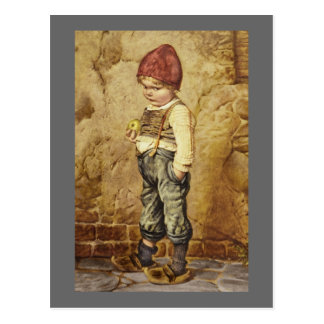 Hansel With Golden Apple Postcard