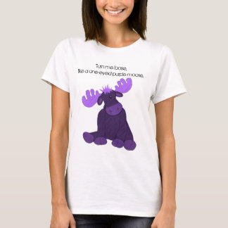 Hanson Purple Moose T-Shirt