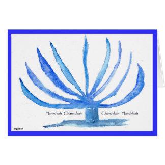 Hanukah Chanukkah Greeting Card