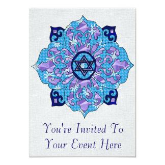 Hanukkah 13 Cm X 18 Cm Invitation Card