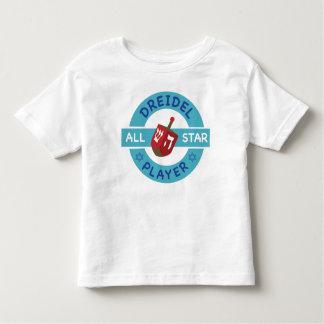 Hanukkah All Star-Dreidel  T-Shirt