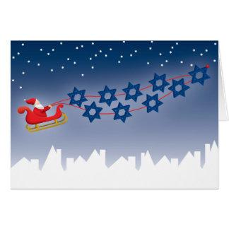 Hanukkah and Christmas Card