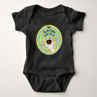 """Hanukkah """"Best Latke Eater"""" Baby Jersey Bodysuit"""