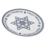 Hanukkah Blue Star Plate