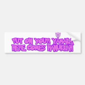 Hanukkah Bumper Sticker