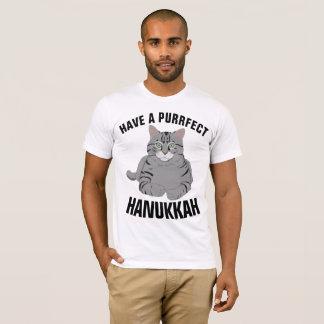 HANUKKAH CAT T-shirts, Funny Jewish Cat Tees