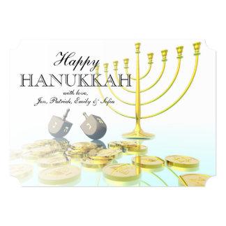 Hanukkah Celebration 13 Cm X 18 Cm Invitation Card