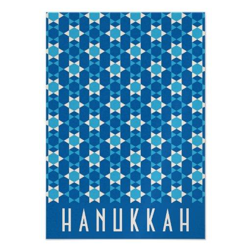 Hanukkah Celebration Invite