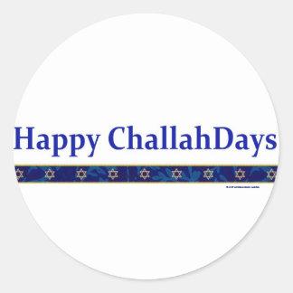 Hanukkah ChallahDays Stickers