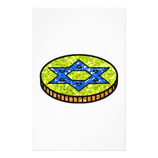 Hanukkah Chanukah Gelt Stationery