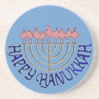 Hanukkah Coaster