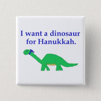 Hanukkah Dinosaur pin