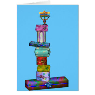 Hanukkah Gifts Card
