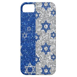 Hanukkah Glitter Stars iPhone 5 Covers
