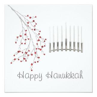 Hanukkah  Greeting Card 13 Cm X 13 Cm Square Invitation Card