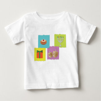 hanukkah greeting card background baby T-Shirt