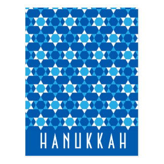 Hanukkah Greeting Postcard