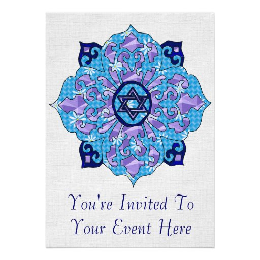 Hanukkah Custom Invites