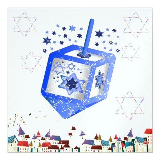 Hanukkah Invitation by SRF