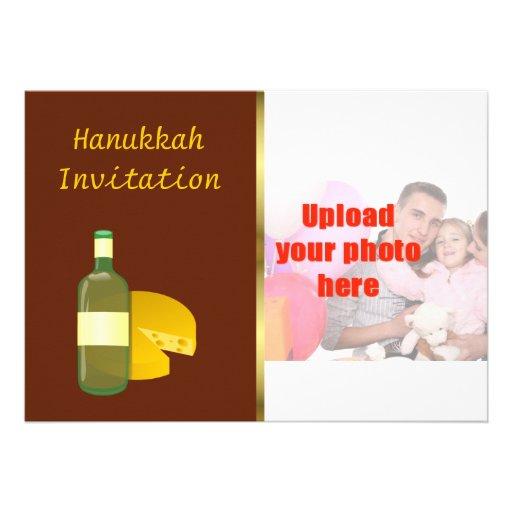 Hanukkah  Invitation Chanukkah Please join us