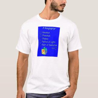 Hanukkah is so hard to spell T-Shirt