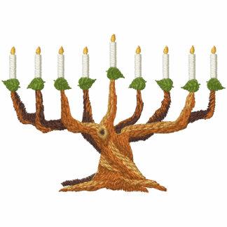 Hanukkah Menorah Tree Hoodie