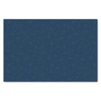 Hanukkah Midnight Blue Snowflakes Tissue Paper