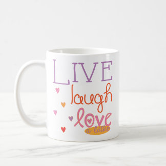 "Hanukkah Mug ""Live Laugh Love a latke"" Multicolor"