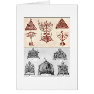 Hanukkah Note Card