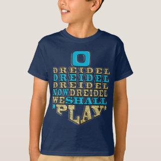 "Hanukkah ""O Dreidel Dreidel Dreidel"" Kid's T-Shirt"