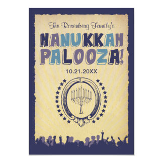 Hanukkah Palooza Invitation
