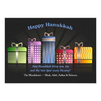 Hanukkah Presents Greeting Card