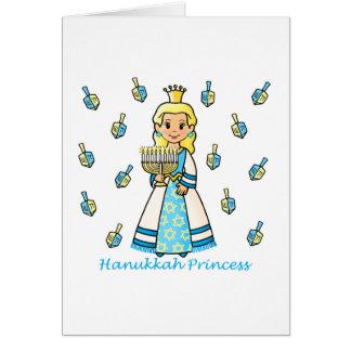 Hanukkah Princess Greeting Card