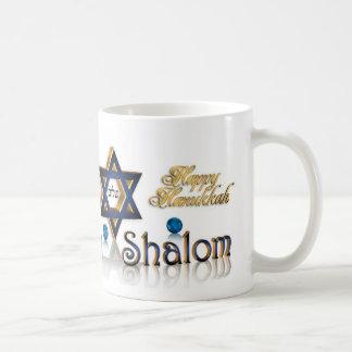 Hanukkah Shalom mug