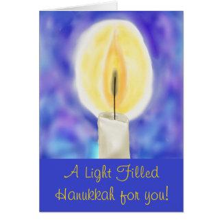 Hanukkah Shamash Card* Card