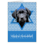 Hanukkah Star of David - Black Labrador