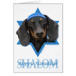 Hanukkah Star of David - Dachshund - Winston