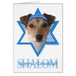 Hanukkah Star of David - Jack Russell Terrier