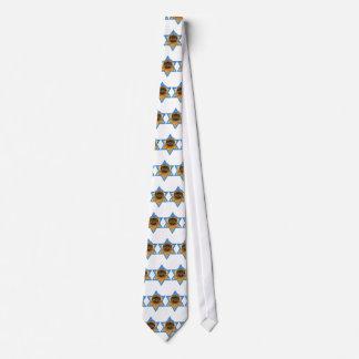 Hanukkah Star of David - Pekingese - Pebbles Tie