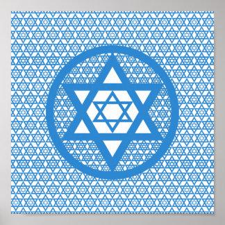 Hanukkah - Star of David Poster